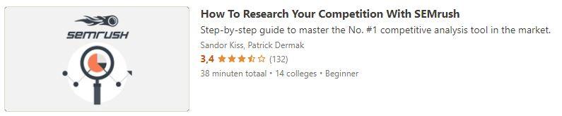 How To Research Your Competition With SEMrush