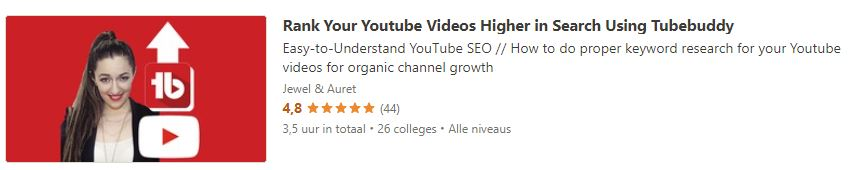 Rank Your Youtube Videos Higher in Search Using Tubebuddy